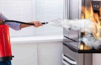 Extinción en cocinas