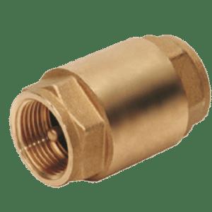 Válvula de retención obturador metálico