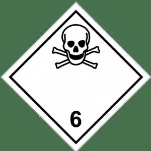 Señal de Materias tóxicas