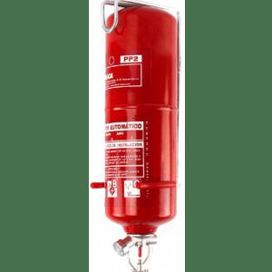 Extintor automático de 2 kg de polvo PP2