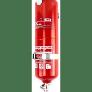 Extintor automático de 3 kg de polvo PP3