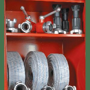 Dotación para caseta material hidrantes DOT