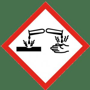 Señal de Sustancias corrosivas