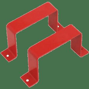 Marco metálico de protección de pulsadores. INPROTCP