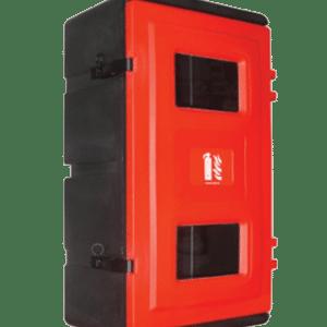 Armario dos extintores hasta 6/12 kg polvo