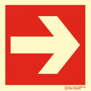 Señal / Cartel de Localización. Clase B