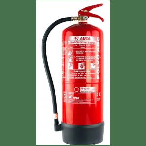 Extintor de 12 kg de polvo PP12HDI