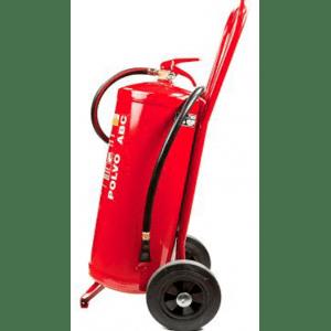 Carro extintor móvil de 25 kg de polvo PP25P