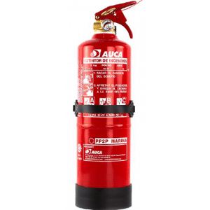 Extintor de 2 kg de polvo para marina PP2PM