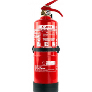 Extintor de 2 kg de polvo PP2P