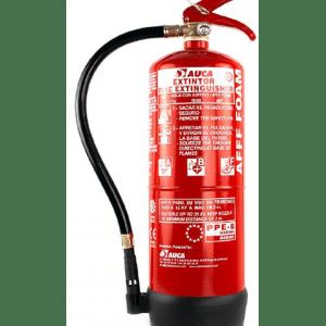 Extintor de 6 lt de agua + aditivos PPE6A
