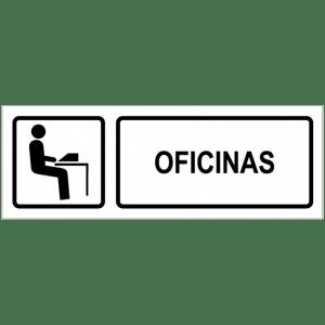 Señal / Cartel de Oficinas