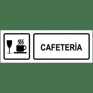 Señal / Cartel de Cafetería