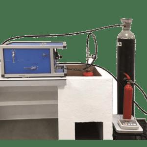 Máquina trasvase y recarga extintores CO2