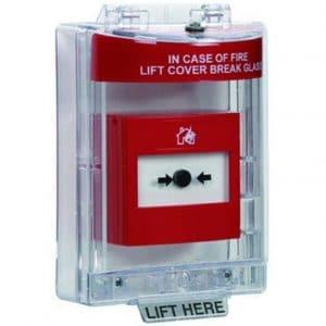 Caja estanca para pulsador de incendio IACPP